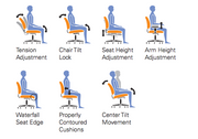 Mesh Back Managers Chair - OTG10900B - Configuration Options - Joe's Discount Office Furniture