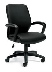 Luxhide Managers Chair - JD11975B - Joe's Discount Office Furniture
