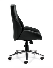 Specialty Luxhide Tilter Chair - JD11786B - Joe's Discount Office Furniture