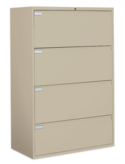 "Global - 9100 Plus Series - 30""W 4 Drawer Lateral File - Joe's Discount Office Furniture"