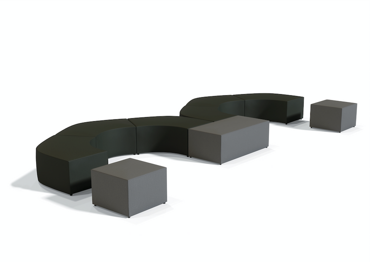Modular Ottoman - Square Shaped - JD13012 - Joe's Discount Office Furniture