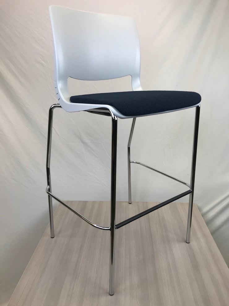 Teknion Variable Bar Height Stacking Stools - Brand New - Joe's Discount Office Furniture