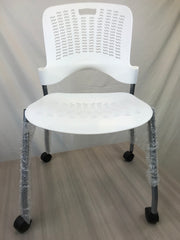 Safco - Sassy Stack Chairs on Casters - Brand New - Joe's Discount Office Furniture