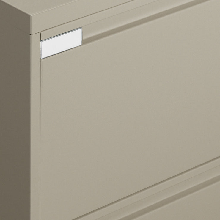"Global 4 Drawer Lateral File Cabinet - 36""W (9336P-4F1H) - Joe's Discount Office Furniture"
