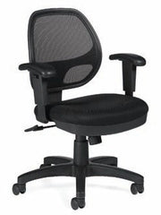 Mesh Back Managers Chair - JD11647B - Joe's Discount Office Furniture