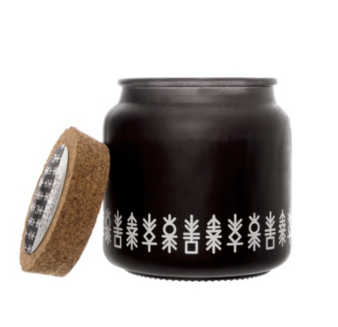 Scented Candle Oliver Black Ambergris