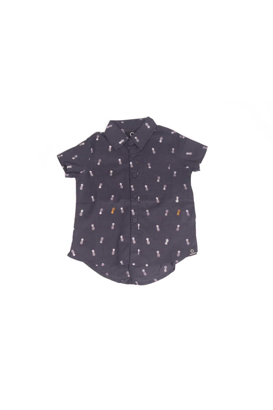 Shirt Kids Pineapple Navy