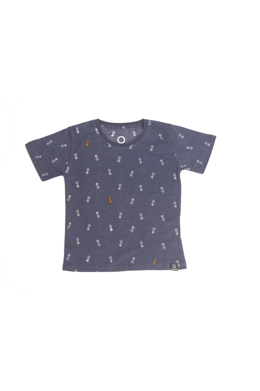 T-Shirt Kids Pineapple Navy