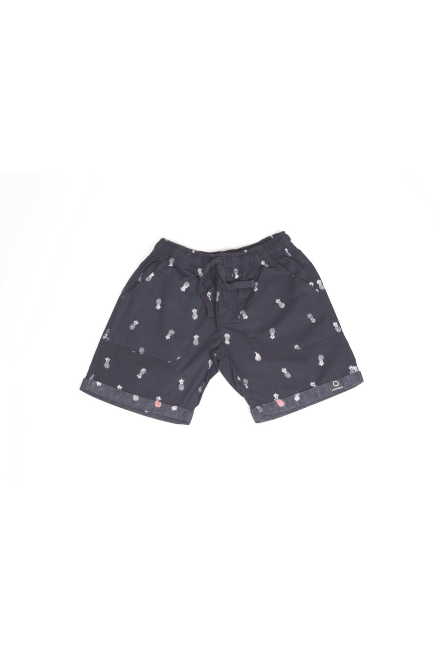Short Kids Pineapple Navy