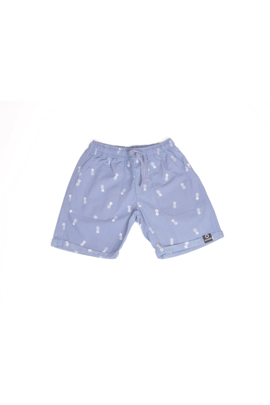 Short Kids Pineapple Medium Blue