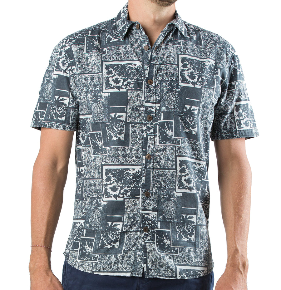 Shirt Go Barefoot Navy Black - Greenrock Indonesia