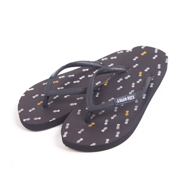 Flip Flop Kids Pineapple Navy