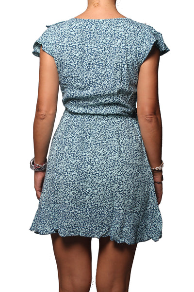 Chloe Dress Little Flower Navy - Greenrock Indonesia
