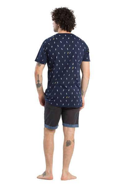 T-Shirt Pineapple Navy - Greenrock Indonesia
