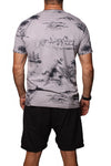 T-Shirt Indonesia Island Pigment Dye Grey