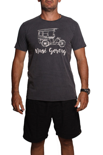 T-Shirt Nasi Goreng Black Sulfur - Greenrock Indonesia