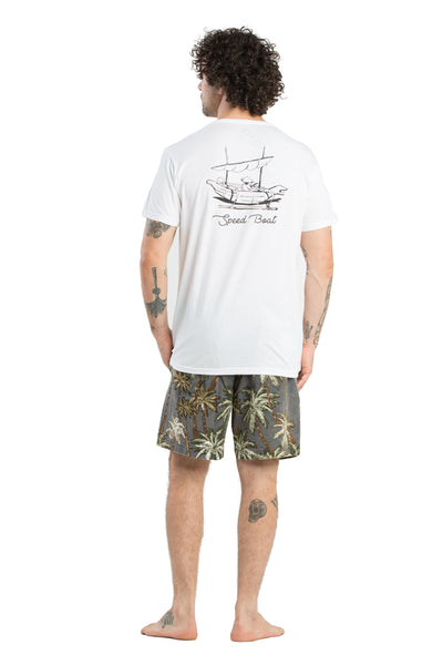 T-Shirt Speed Boat White - Greenrock Indonesia