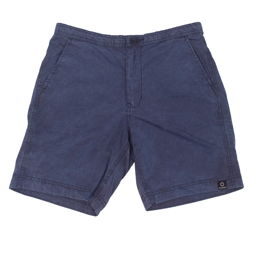 Easy Short 2 Plain Navy Wash