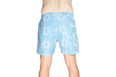 "Saint Short Teki Blue - 18"" - Greenrock Indonesia"