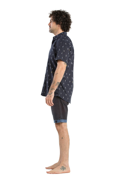 SHIRT ST PINEAPPLE NAVY
