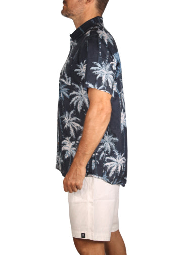 Shirt Trees Navy