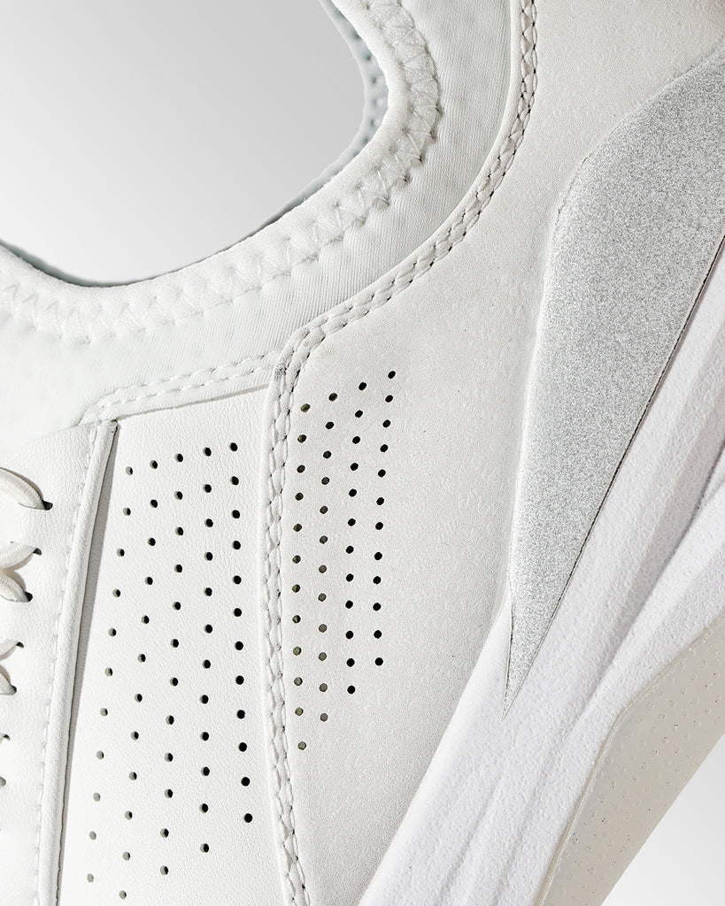 Clarino Fabric on Clove Brilliant White Sneakers - What are Your Shoes Really Made of?