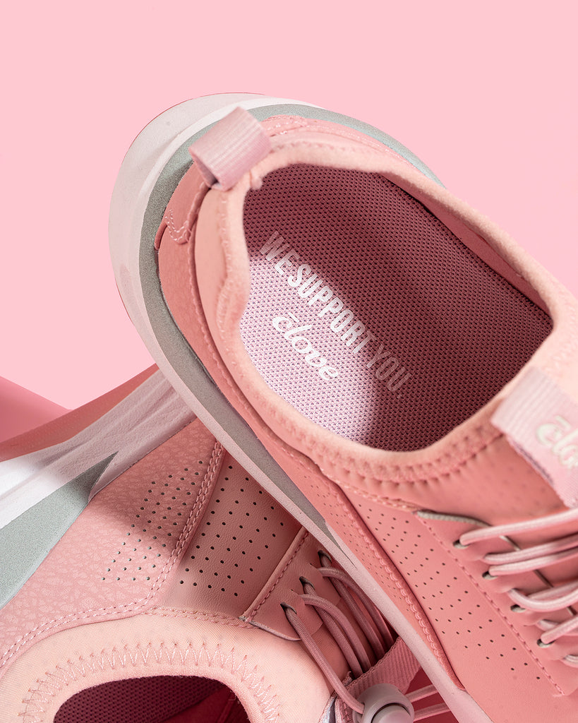 Insole of Clove Pink Up Shoes - What are Your Shoes Really Made of?