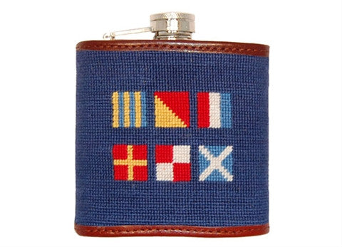 Got Rum Needlepoint Flask™ by Smathers & Branson