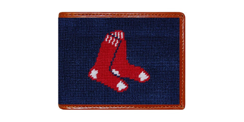 Boston Red Sox Needlepoint Wallet