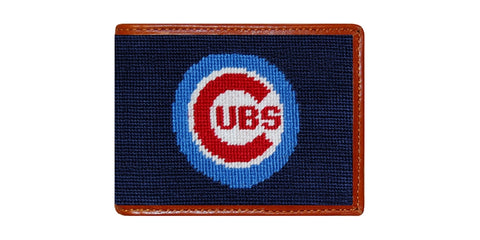Chicago Cubs Needlepoint Wallet