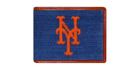 New York Mets Needlepoint Wallet