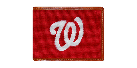 Washington Nationals Needlepoint Wallet