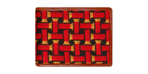 Shotgun Shell Needlepoint Wallet