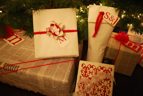 Butcher Paper and Twine Gift Wrapping