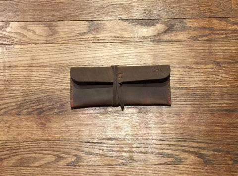 The Lloyd Leather Roll