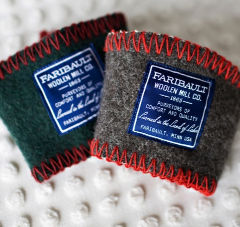 Pair Wool Coffee Sleeves