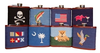 Texas Flag Needlepoint Flask