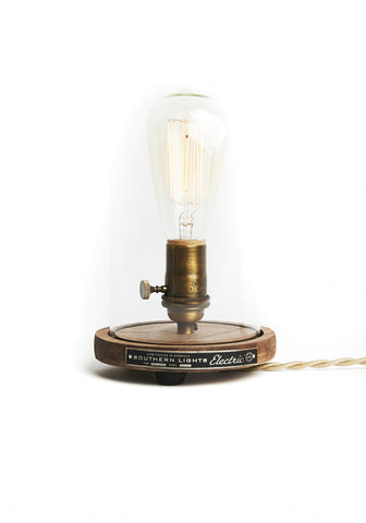 Bell Jar Edison Desk Lamp