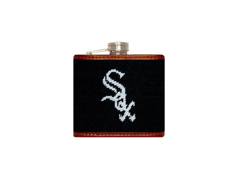 Chicago White Sox Needlepoint Flask