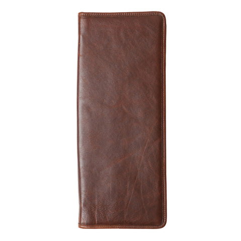 Evans Tie Case in Titan Milled Brown