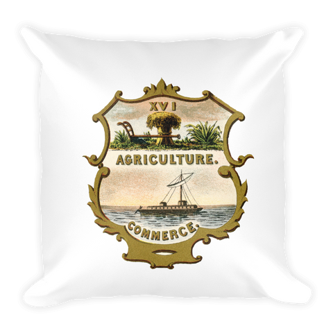 Tennessee Coat of Arms Pillow
