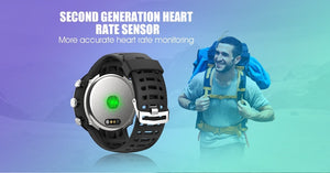GPS Waterproof Outdoor Smartwatch