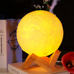 Moon Lamp With Mist Humidifier