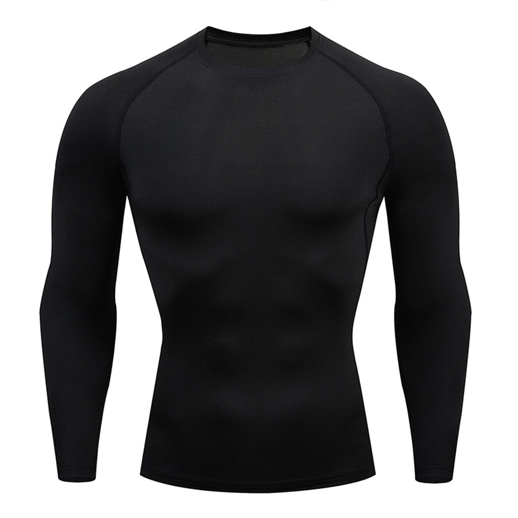 Men's Cool Dry Long Sleeve Compression Shirt