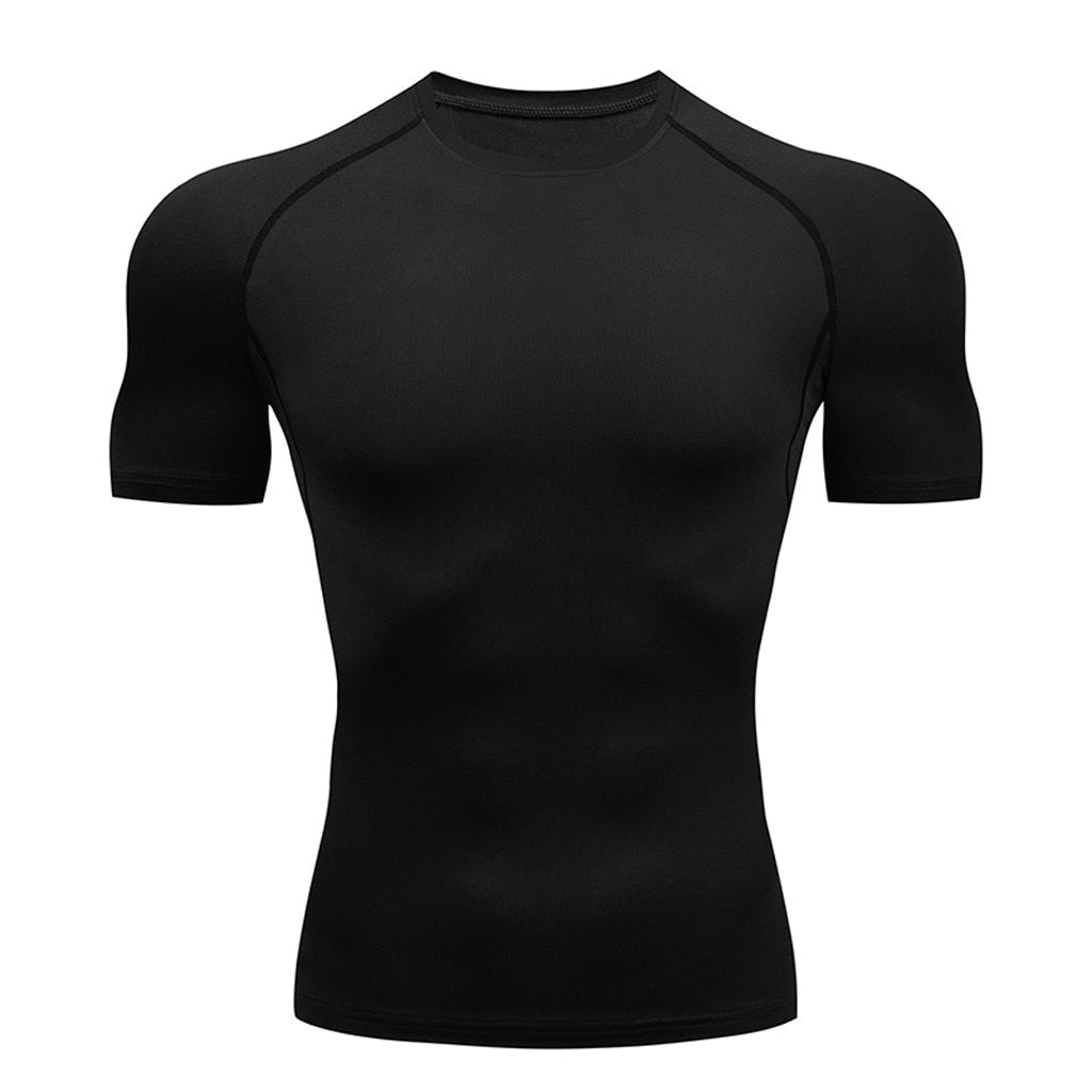 Men's Cool Dry Short Sleeve Compression Shirt