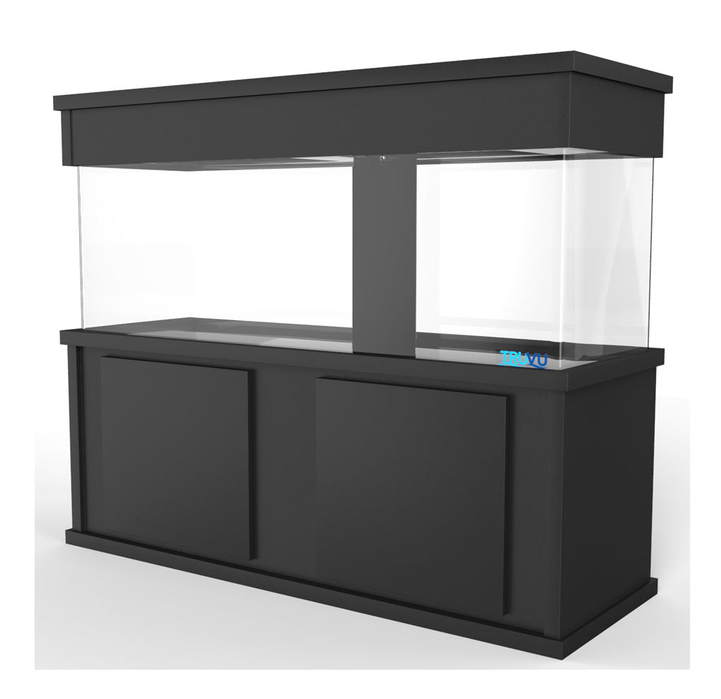 TRUVU M5 Aquarium Stand and Canopy fits aquariums 60x24