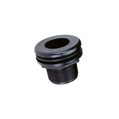 slip by slip half inch bulkhead fitting