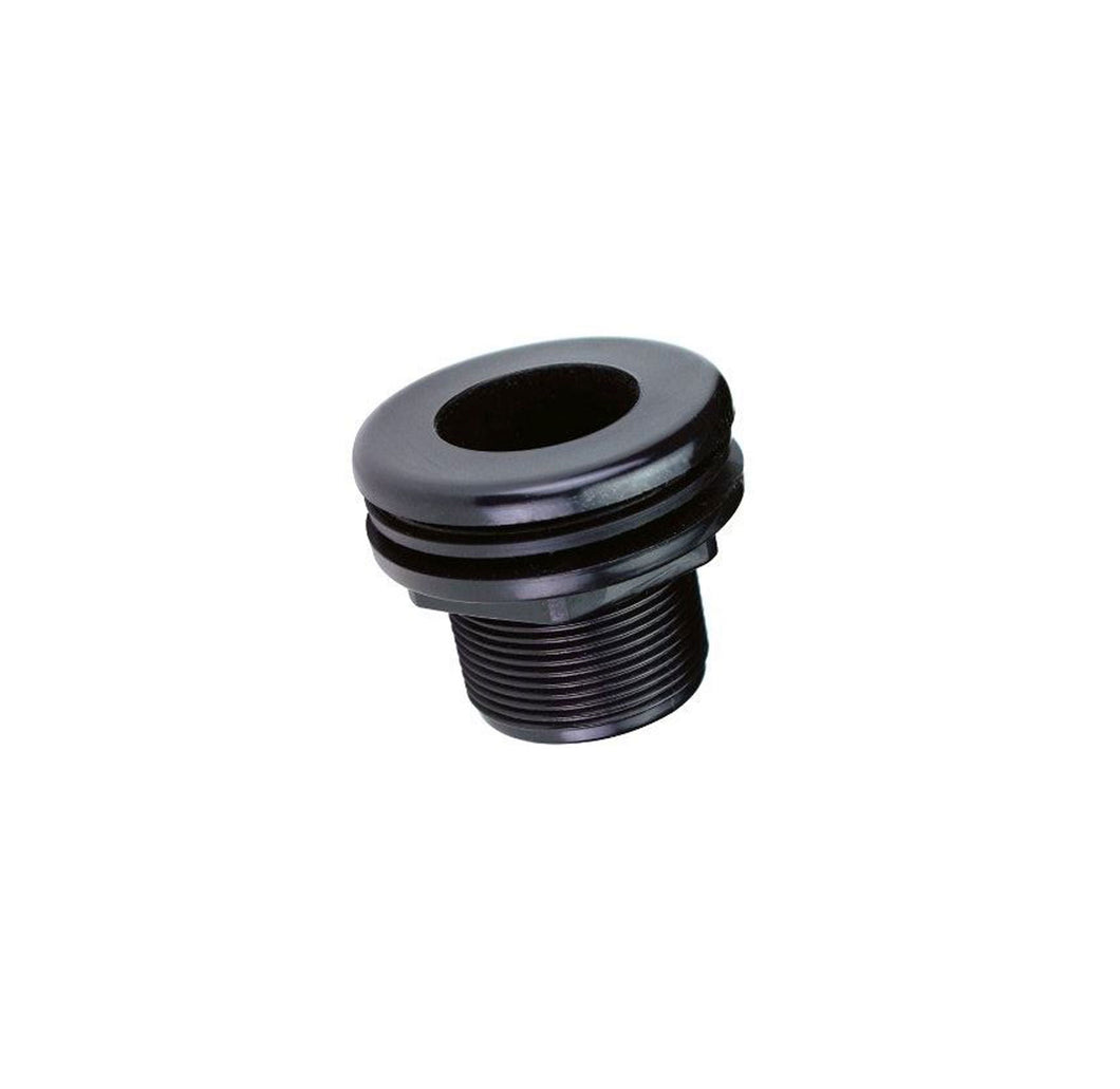 slip by slip three quarter inch bulkhead fitting