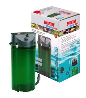 Eheim External filter Classic 350 with Bio media and double taps
