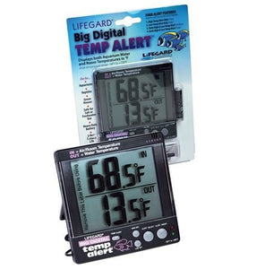 LifeGard Big Digital Temp Alert Thermometer